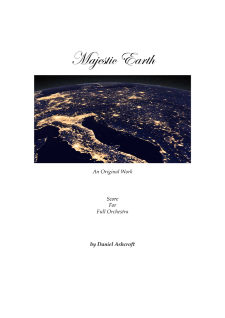 Majestic Earth Score Only