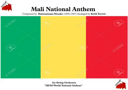 Mali National Anthem For String Orchestra Mfao World National Anthem Series
