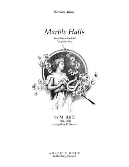 Marble Halls For Guitar Duo