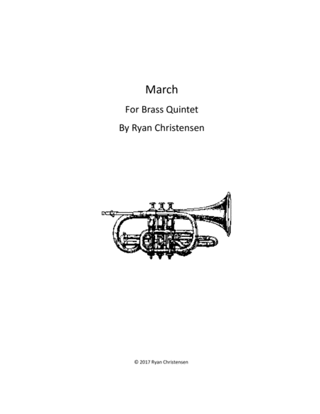 March For Brass Quintet