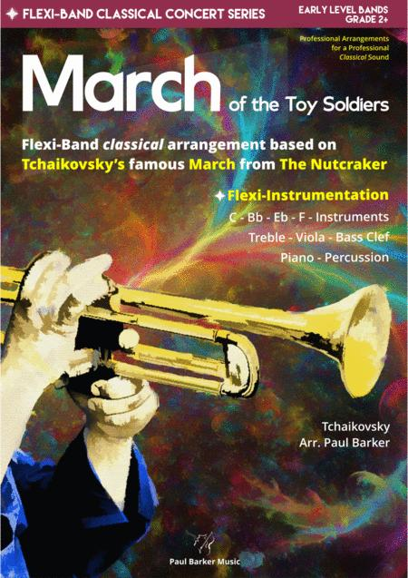 March From The Nutcracker Flexi Band Score Parts
