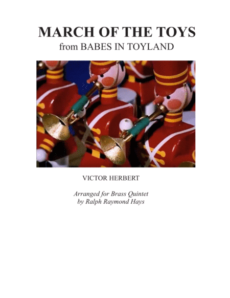 March Of The Toys For Brass Quintet