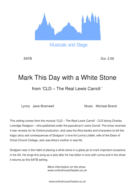 Mark This Day With A White Stone
