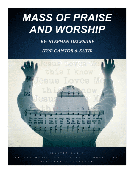 Mass Of Praise And Worship Vocal Score For Satb