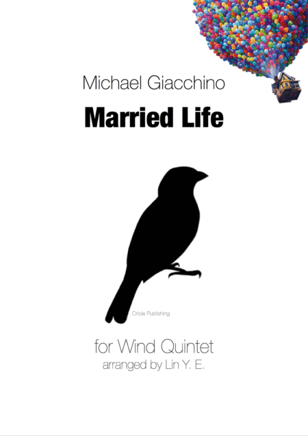 M Giacchino Married Life Arr For Wind Quintet