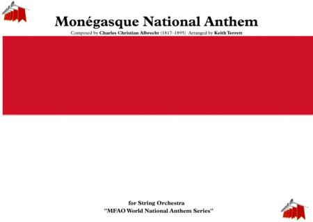 Mongasque Monaco National Anthem For String Orchestra Mfao World National Anthem Series
