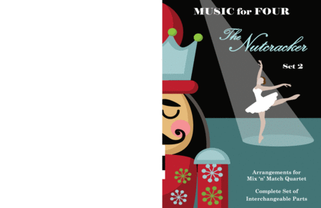 Mother Ginger From The Nutcracker For String Quartet Or Piano Quintet With Optional Violin 3 Part