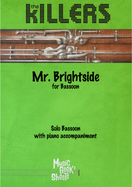 Mr Brightside By The Killers For Bassoon