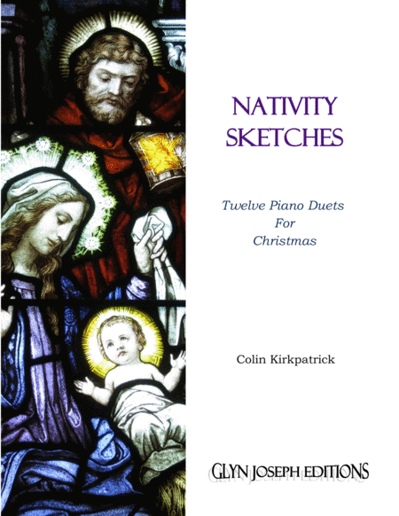 Nativity Sketches 12 Piano Duets For Christmas