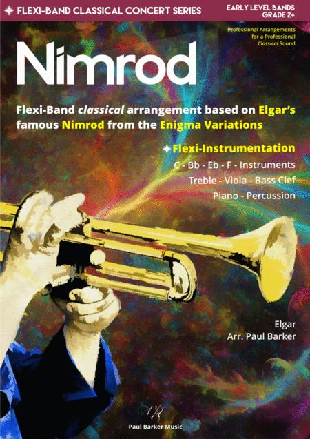 Nimrod From The Enigma Variations Flexi Band Score Parts