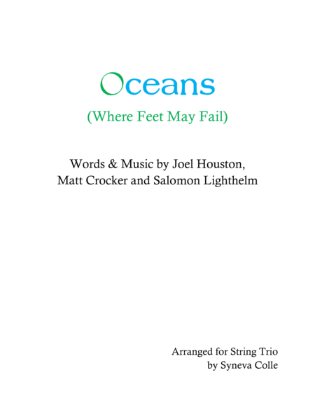 Oceans Where Feet May Fail