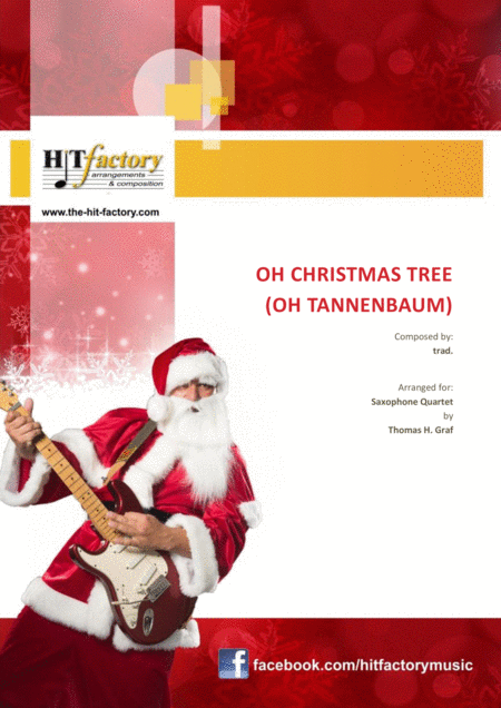 Oh Christmas Tree Oh Tannenbaum Funky Saxophone Quartet