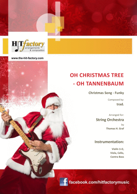 Oh Christmas Tree Oh Tannenbaum Funky String Orchestra