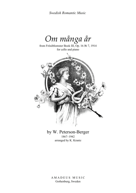Om Mnga R From Frsblomster Iii For Cello And Piano