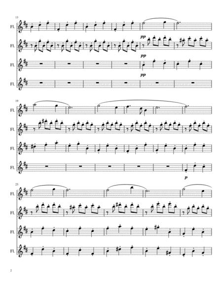Anastasia Flute Sheet Music