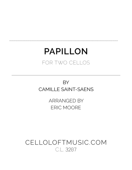 Papillon For Two Cellos