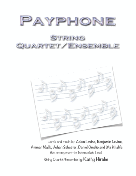 Payphone String Quartet Ensemble