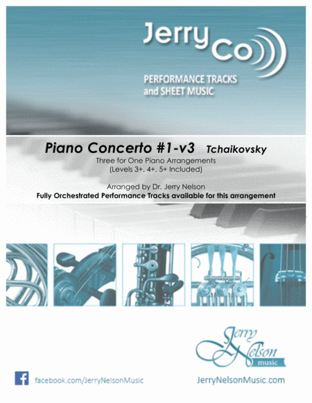 Piano Concerto 1 V3 Tchaikovsky 3 For 1 Piano Arrs Short Version