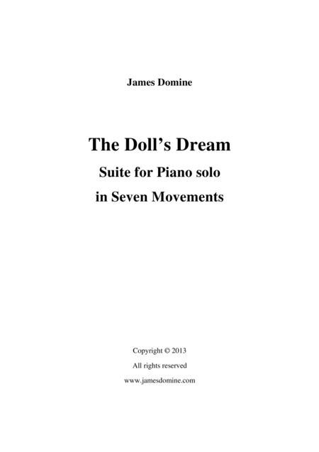 Piano Suite 2 The Dolls Dream