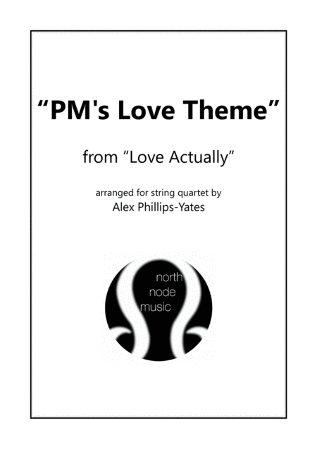 Pms Love Theme From Love Actually String Quartet