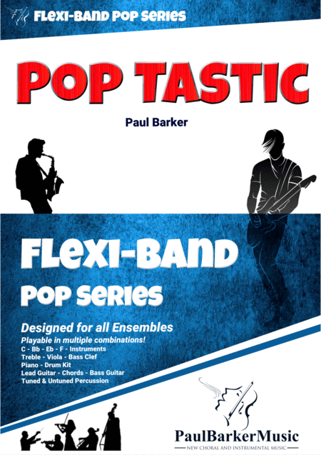 Pop Tastic Flexi Band Score Parts