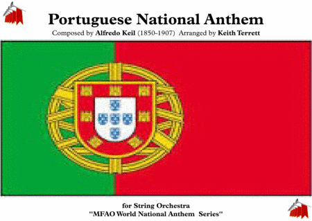 Portuguese National Anthem For String Orchestra Mfao World National Anthem Series