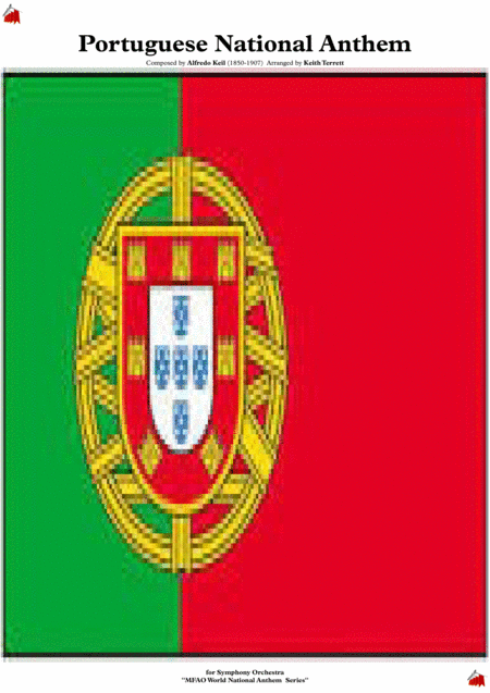 Portuguese National Anthem For Symphony Orchestra Keith Terrett Olympic Anthem Series