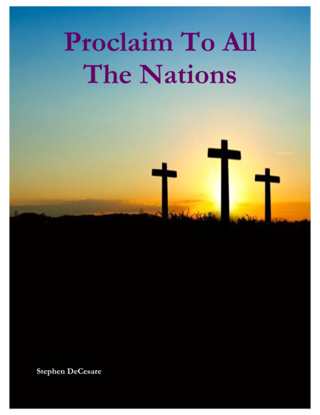 Proclaim To All The Nations Vocal Score