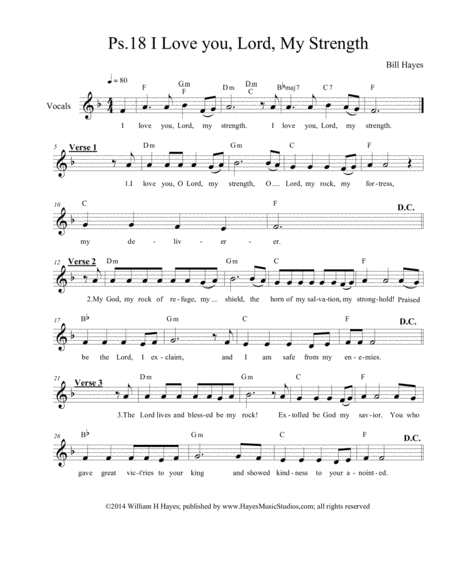 lord my strength free music sheet - musicsheets.org  music sheet library for all instruments