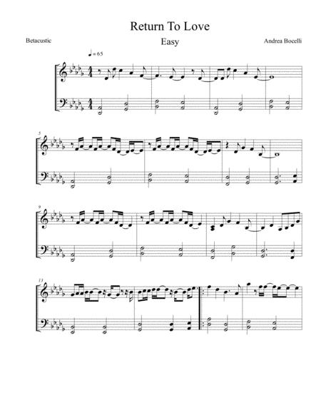 love will come easy piano free music sheet - musicsheets.org  music sheet library for all instruments