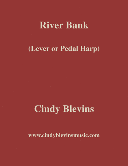 River Bank An Original Solo For Lever Or Pedal Harp From My Harp Book Hourglass