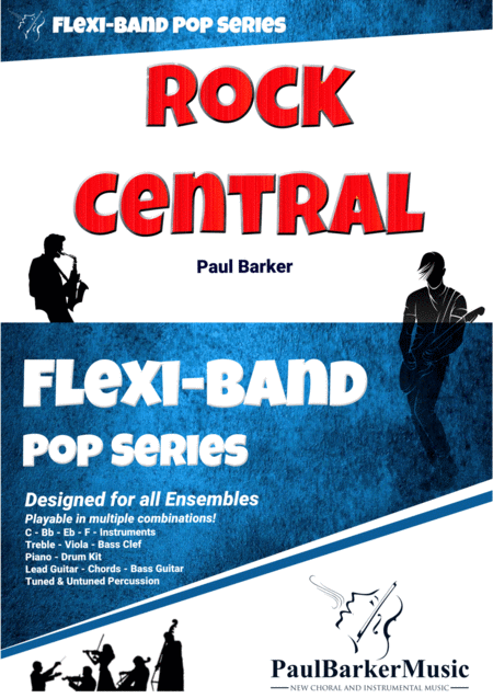 Rock Central Flexi Band Score Parts