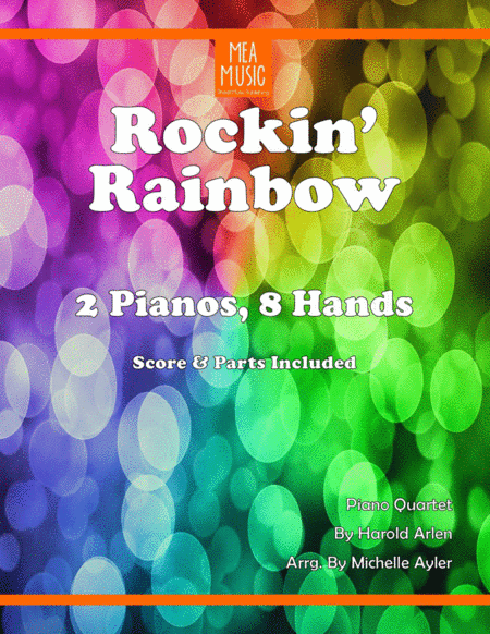 Rockin Rainbow Piano Duo Over The Rainbow From The Wizard Of Oz