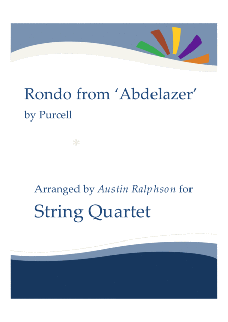 Rondo From The Abdelazer Suite String Quartet