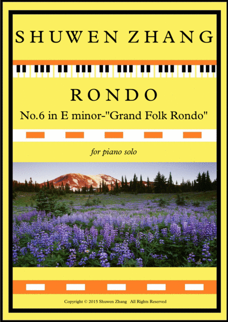 Rondo No 6 In E Minor Grand Folk Rondo