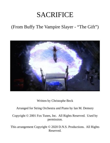 Sacrifice From The Buffy The Vampire Slayer Episode The Gift