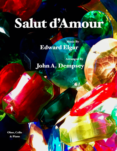 Salut D Amour Loves Greeting Trio For Oboe Cello And Piano