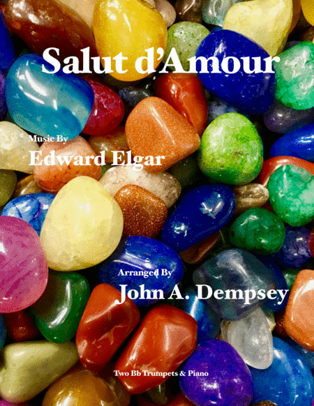 Salut D Amour Loves Greeting Trio For Two Trumpets And Piano