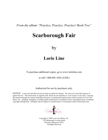 Scarborough Fair Easy