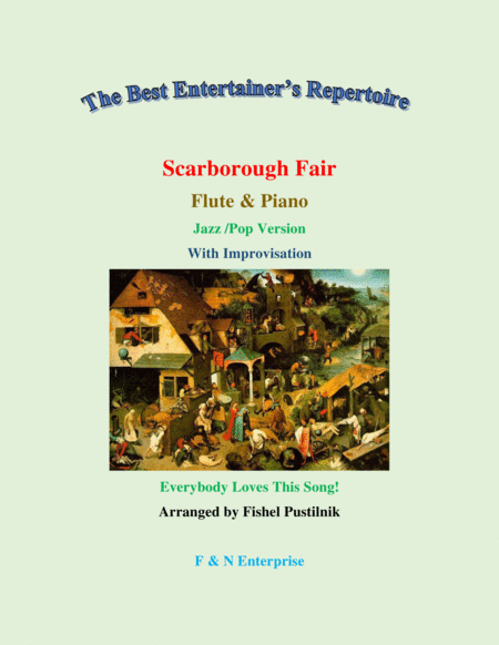 scarborough fair piano background for flute and piano jazz pop version with  improvisation free music sheet - musicsheets.org  music sheet library for all instruments