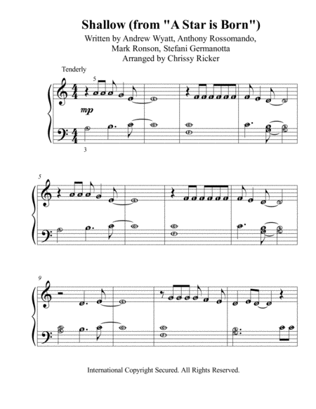 Shallow Pre Reading Piano With Note Names