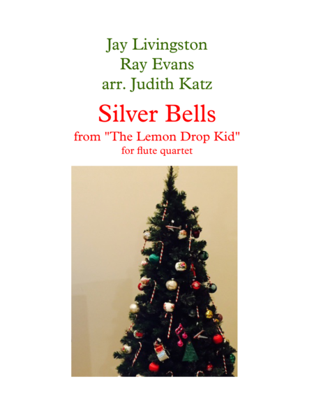 Silver Bells For Flute Quartet
