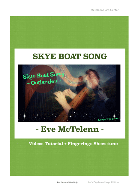 Skye Boat Song Outlander Theme Only Score