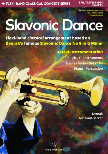 Slavonic Dance No 8 Flexi Band Score Parts