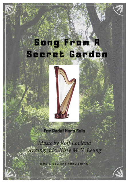Song From A Secret Garden Pedal Harp Solo