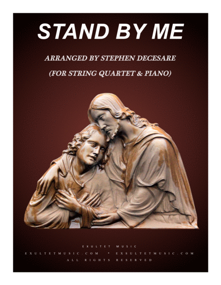 Stand By Me For String Quartet And Piano
