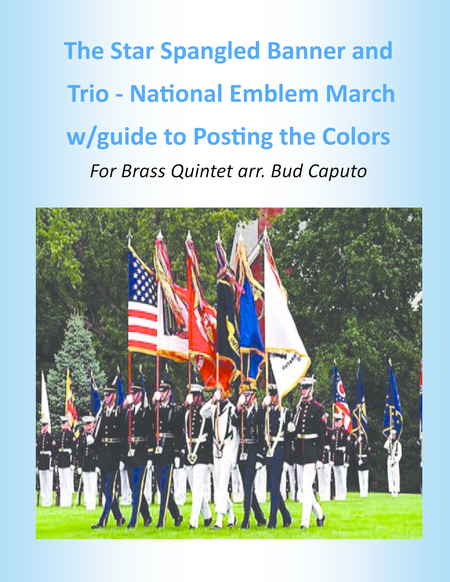Star Spangled Banner And Trio From National Emblem March Brass Quintet