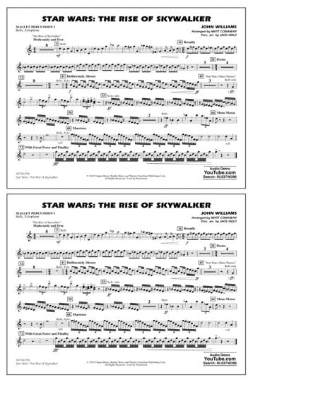 Star Wars The Rise Of Skywalker Arr Matt Conaway Mallet Percussion 1