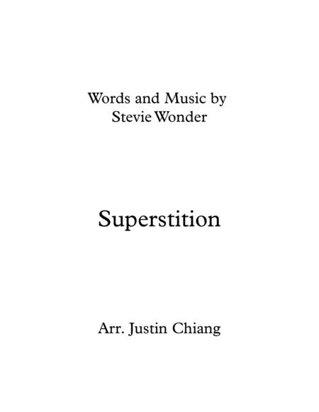 Stevie Wonder Superstition For Brass Quintet
