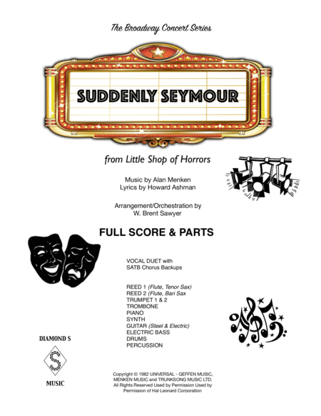 Suddenly Seymour Full Score Parts